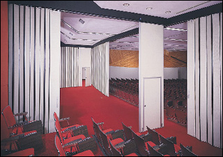 (Acoustical folding partition (Sonicwal